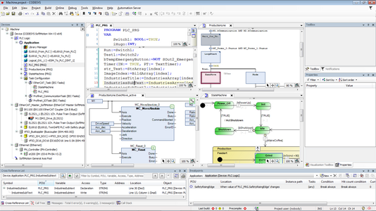 Programming in CODESYS Screenshot