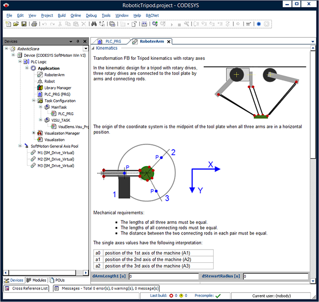 CODESYS Motion + CNC: Integrated Motion Control in an IEC 61131-3