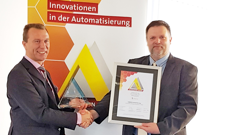 CODESYS Automation Award Platz 1 2017