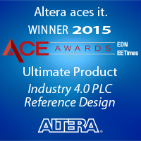 Altera's innovative, single-chip PLC reference design runs on the Altera ARM-based Cyclone V SoC.